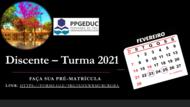 Pré-Matrícula - Turma 2021