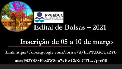 Edital de Bolsas - Edital n. 02:2021