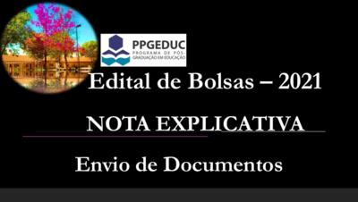 Edital n. 02/2021 - Nota Explicativa
