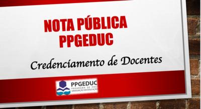 Notícias PPGEDUC