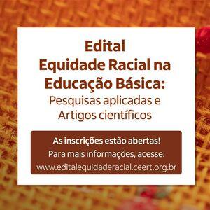 Edital Equidade Racial