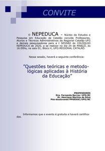 I COLÓQUIO NEPEDUCA 2020