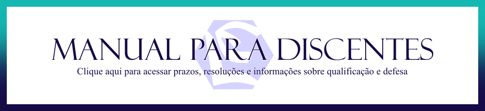 Banner - Manual para discentes