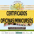CERTIFICADOS - MINICURSOS/OFICINAS