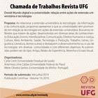 PUBLICAÇÃO PARA CHAMADA DE TRABALHOS