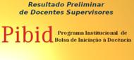 Resultado Preliminar de Docentes Supervisores 25-08