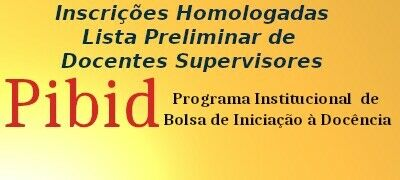 Homologação Edital 02_PIBID UFCAT 2020 Supervisores