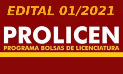 Edital 01/2021 PROLICEN