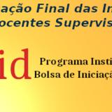 Homologação Final das Inscrições dos Docentes Supervisores Edital 02/2020