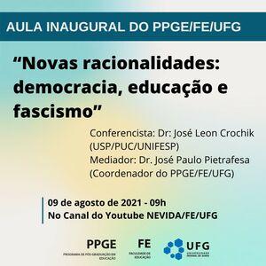 Aula inaugural 1 semestre 2021_PPGE_FE_UFG