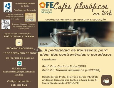 Café filosófico na web_Rousseau