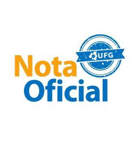 Nota Oficial UFG