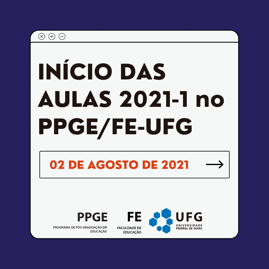 Inicio 1 semestre 2021_PPGE