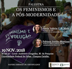 Palestra Feminismos e Pós-modernidade