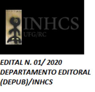 EDITAL N. 01/ 2020 DEPARTAMENTO EDITORAL (DEPUB)/INHCS
