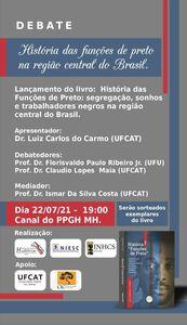 Debate História das Funções de preto na região central do Brasil
