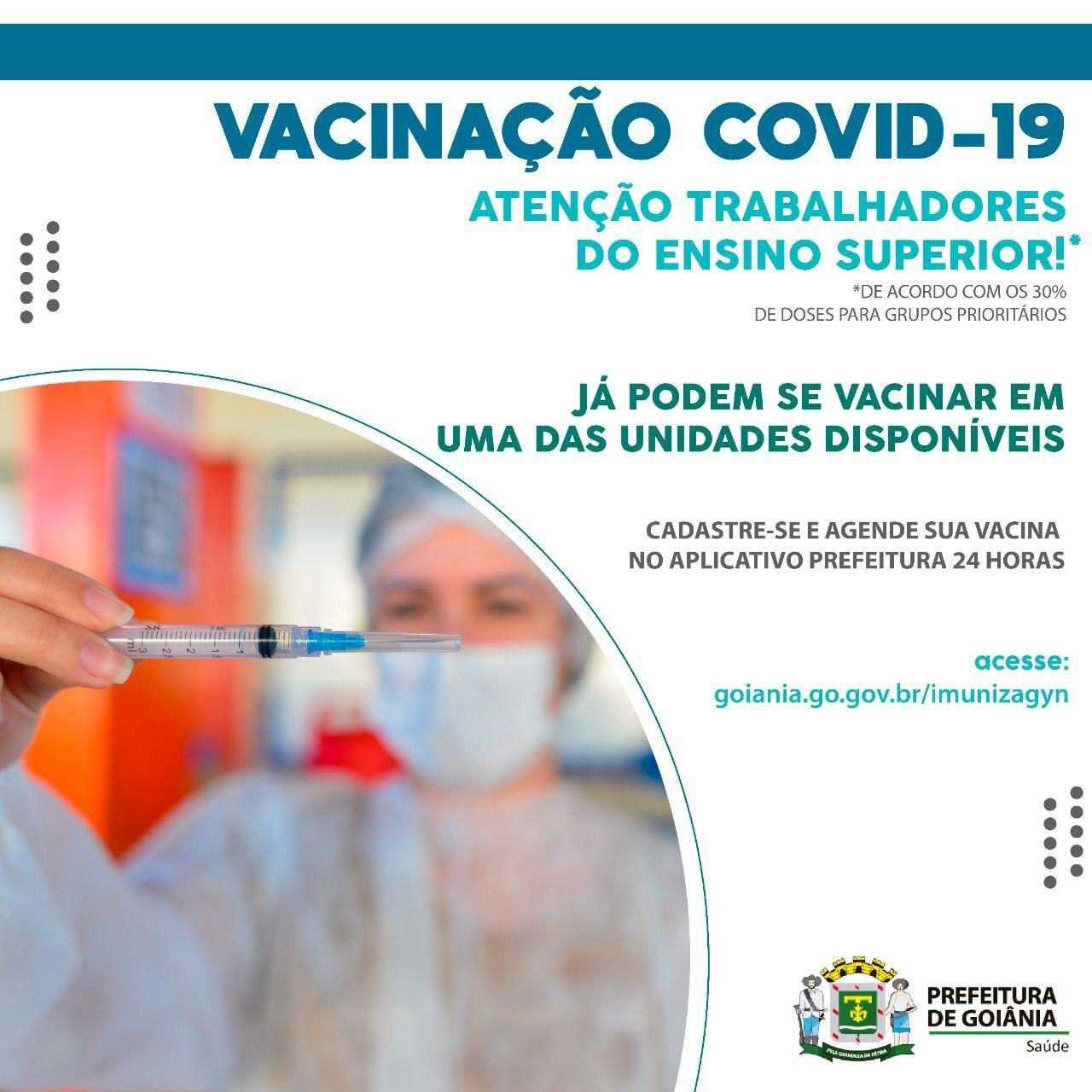 Vacinação servidores