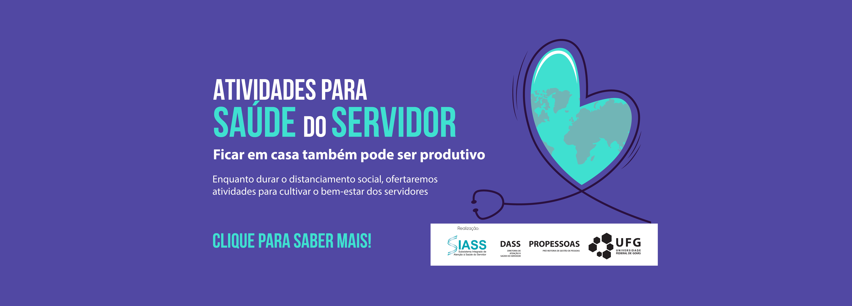 Banner atividade para saúde do servidor
