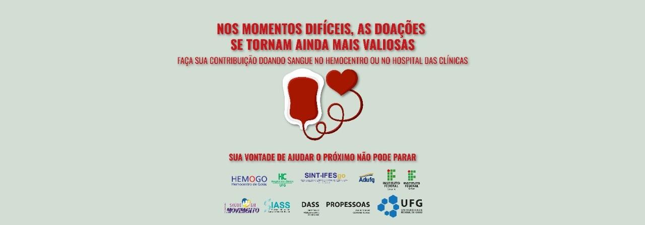 Banner doação sangue