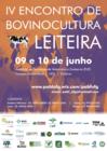 Cartaz IV Encontro de Bovinocultura Leiteira
