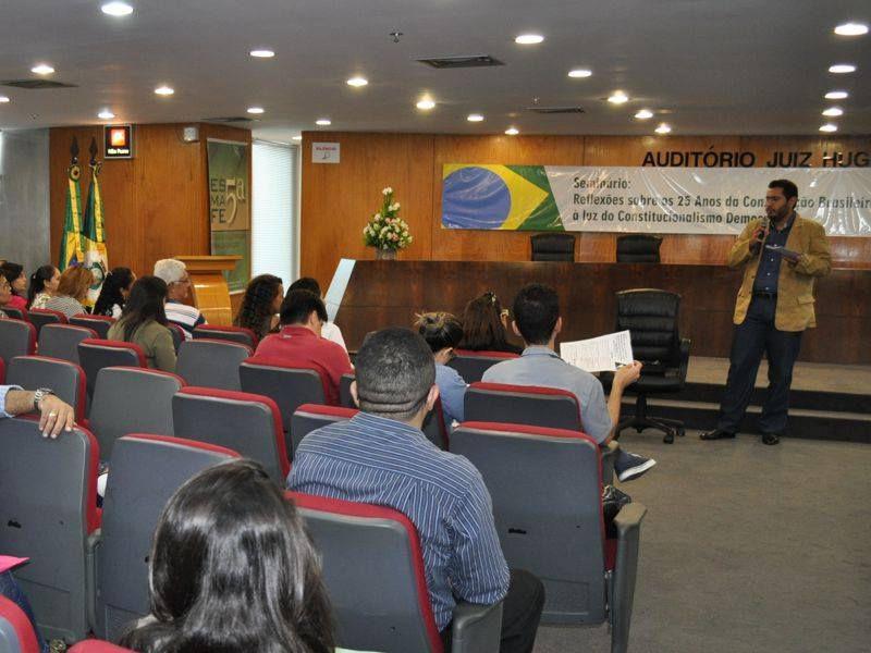 Seminário da Escola da Magistratura Federal da 5ª Região em parceria com a Rede para o Constitucionalismo Democrático Latino-Americano