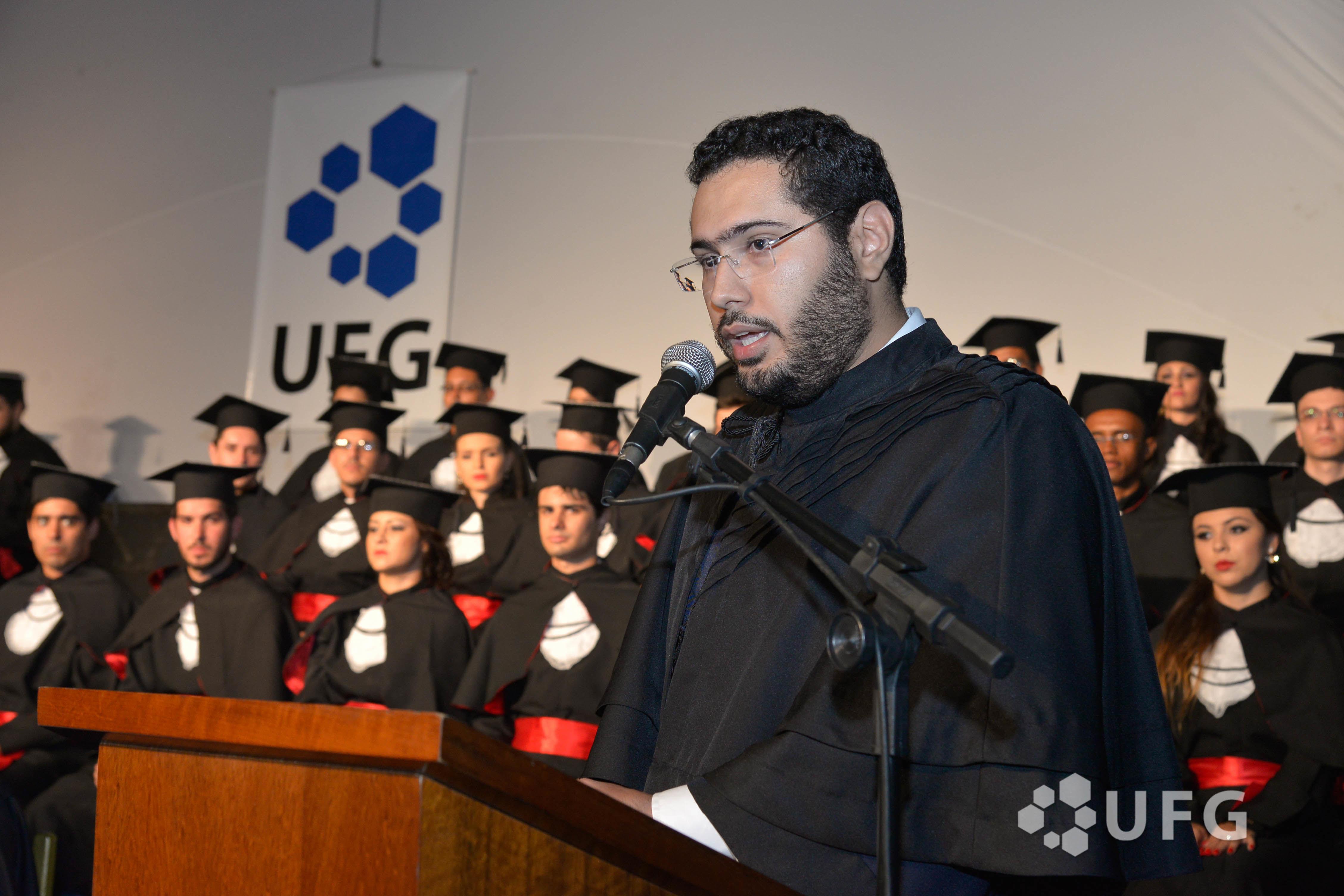 Dircurso na colação de grau da turma de direito 2014/2 da Regional Goiás da UFG