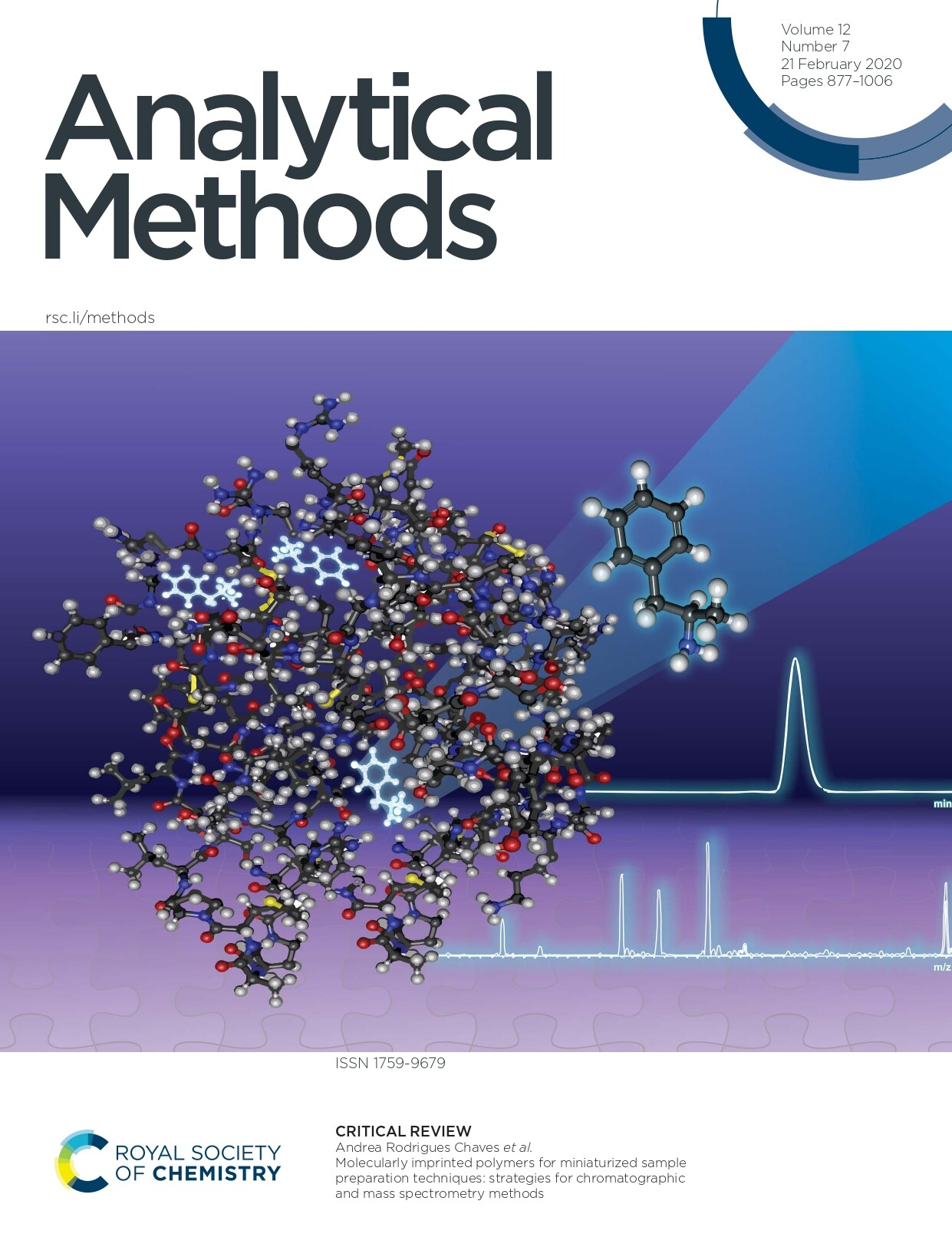 CRITICAL REVIEWAndrea Rodrigues Chaves et al.Molecularly imprinted polymers for miniaturized samplepreparation techniques: strategies for chromatographicand mass spectrometry methods