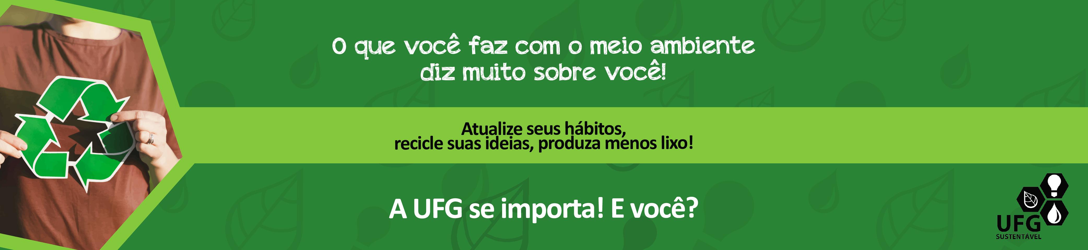 UFG Sustentável Banner