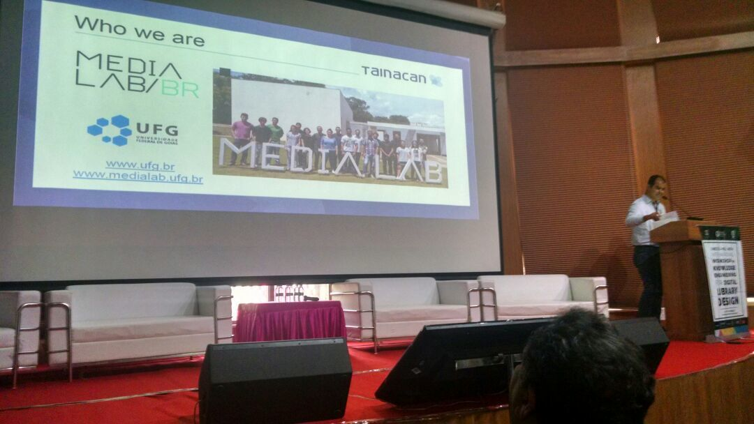 Media Lab apresenta Tainacan em evento da Unesco, na índia