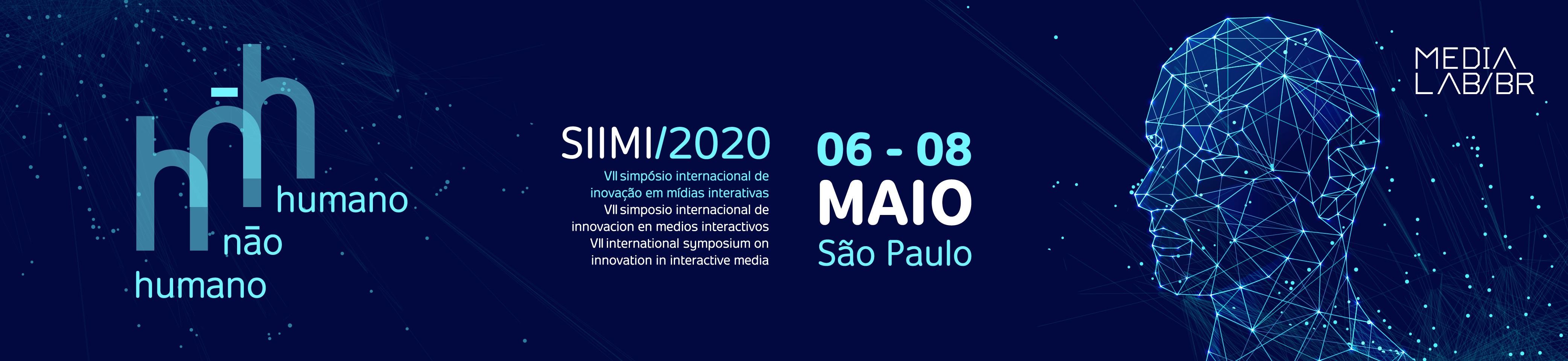 Banner do Simpósio Internacional de Inovação em Mídias Interativas 2020