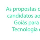 Link Coluna 17-09 - As propostas dos principais candidatos ao governo de Goiás para CTI