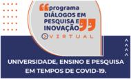 Programa Diálogos em Pesquisa e Inovação da UFG virtual