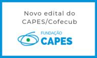 Novo edital do Capes-Cofecub