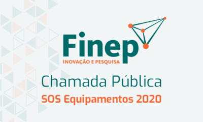 Chamada Finep SOS Equipamentos 2020