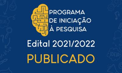 Banner Publicado edital PIP 2020-2021