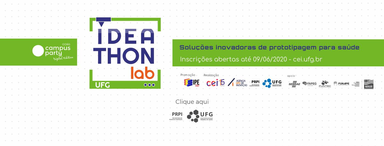 1° Ideathon Lab - Soluções Inovadoras de Prototipagem para Saúde