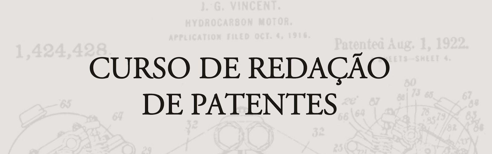 redação de patente