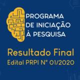 BannerNotícia_Resultado Final do Edital 01 2020