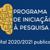 Edital PRPI Nº 01/2020 - Planos de Trabalho PIP