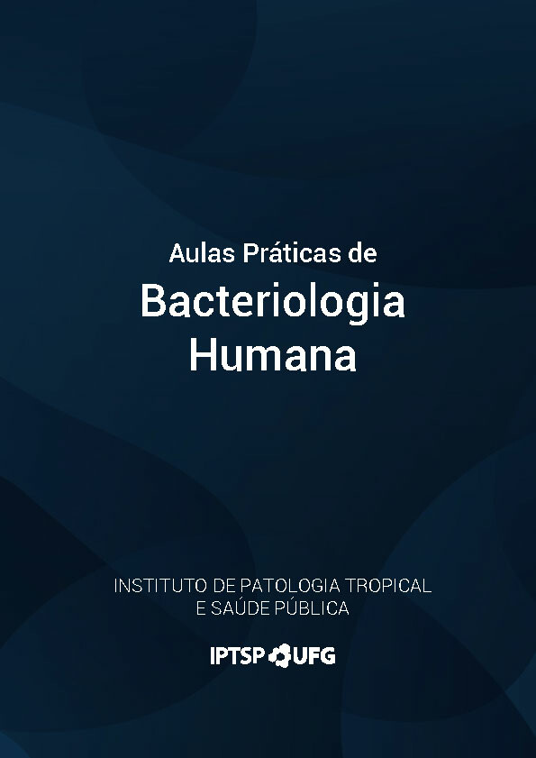 Capa Aulas Práticas de Bacteriologia Humana