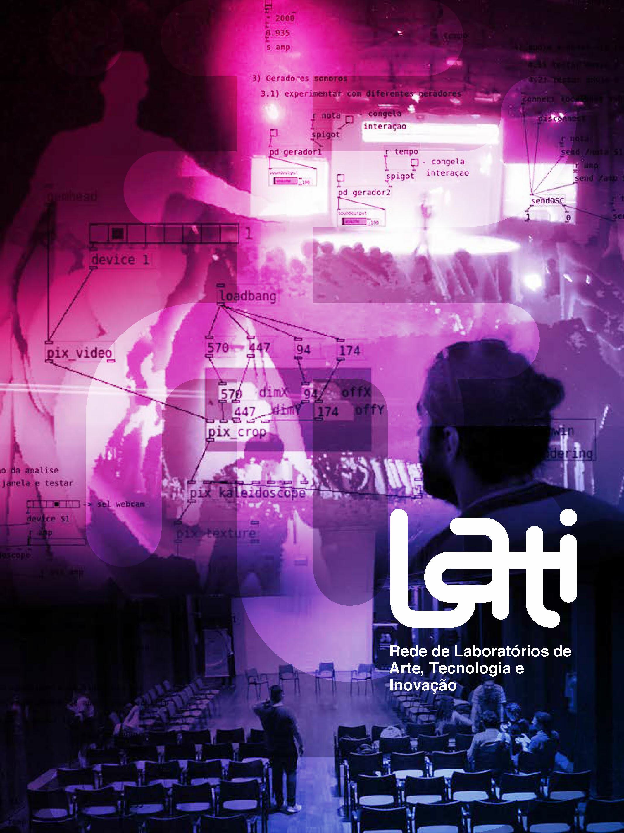 Capa Rede de Laboratórios de Arte, Tecnologia e Inovação