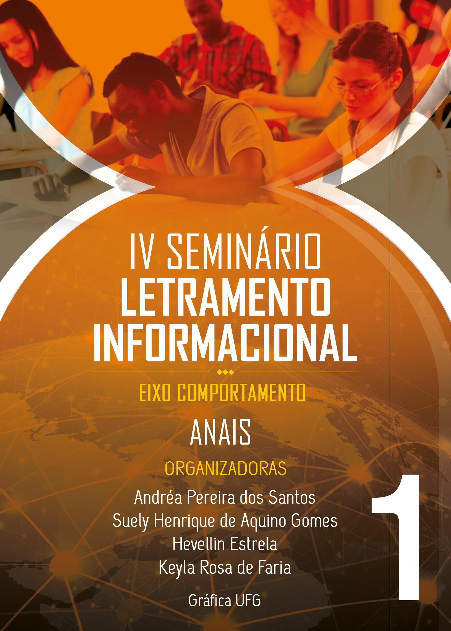 capa Seminário de Letramento Informacional: eixo comportamento v. 1