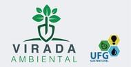 Logo da Virada Ambiental, com a marca do UFG Sustentável.