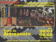 Exposição Cosmologias Indígenas: traçando a diversidade cultural