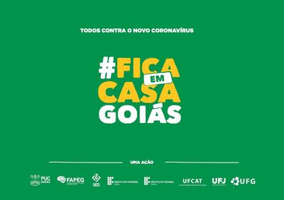 Fica em casa Goiás