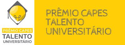 Banner Notícia - Prêmio Capes Talento Universitário