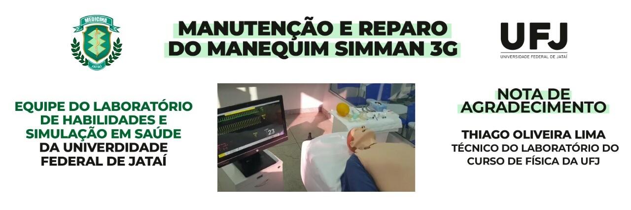 Manutenção e Reparo do Manequim Simman 3G