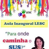 Aula Inaugural LESC