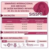 Seminário internacional dos serviços de saúde de materno - infantil