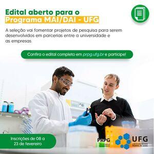 Programa de Mestrado e Doutorado Acadêmico para Inovação - MAI/DAI-